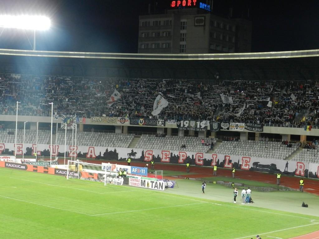 suporteri U Cluj