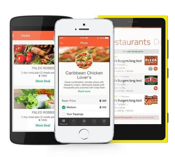 aplicatia foodpanda mobile