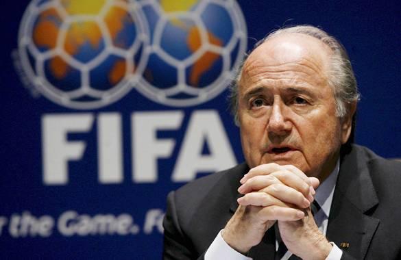El presidente de la FIFA, Joseph Blatter, fotografiado durante una rueda de prensa en Zúrich, Suiza. EFE/Steffen Schmidt.