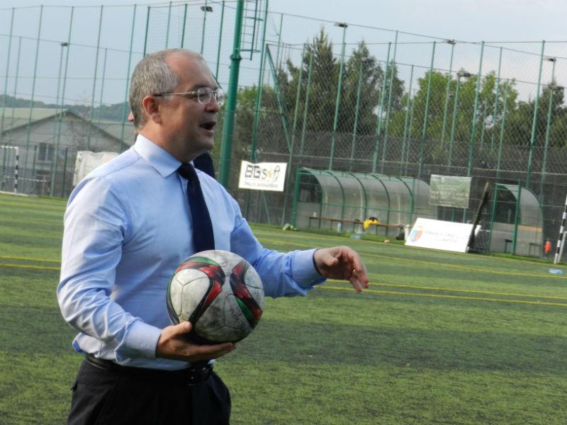 Emil Boc, un primar jucător. La propriu :)