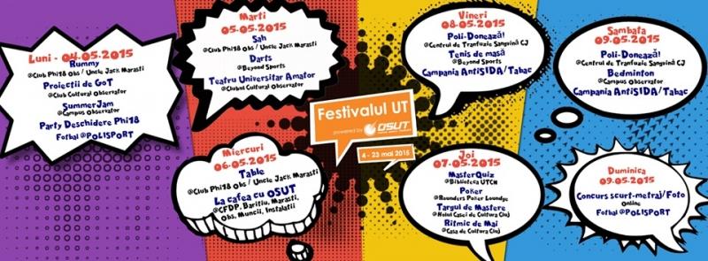Mai, luna evenimentelor pentru studenți la Cluj! Organizaţiile studenţeşti se implică activ în programul Capitalei Europene a Tineretului