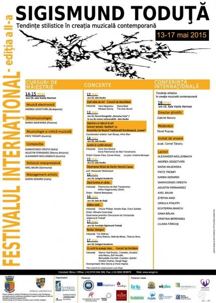 festivalul international sigismund toduta 2015