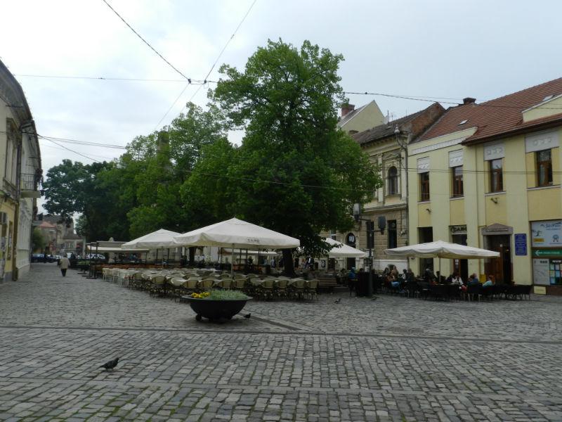 piata muzeului cluj