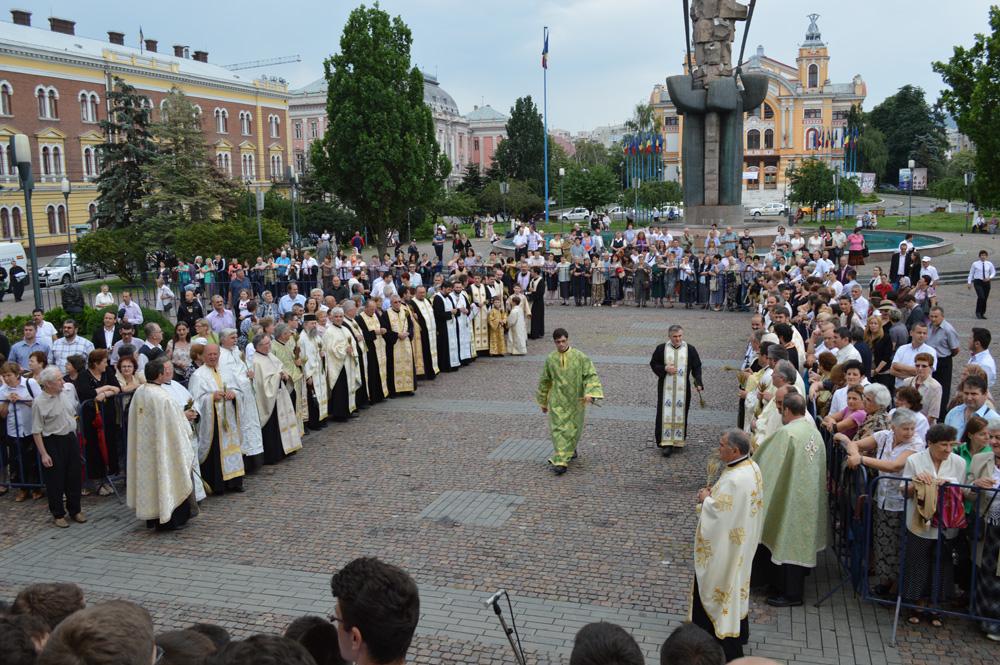 procesiune de rusalii cluj
