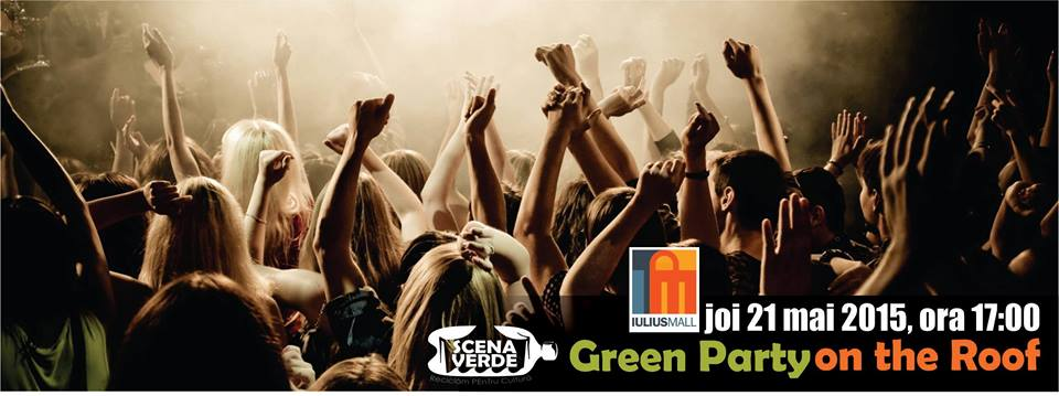 scena verde green party on the roof