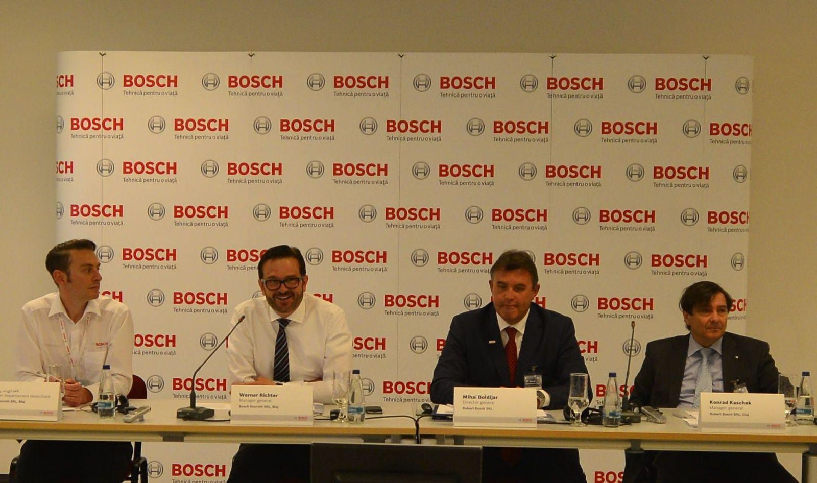 Conferinta de presa Bosch (Blaj)