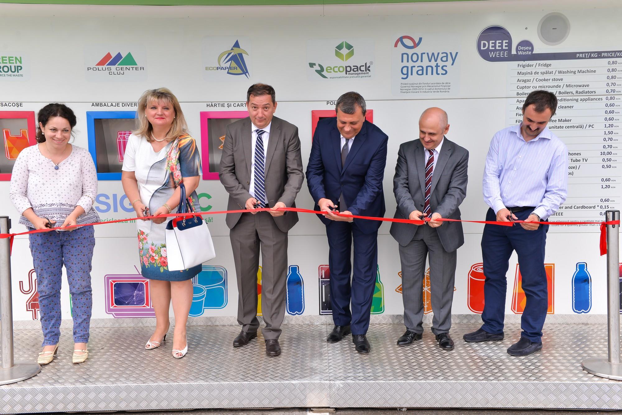 Lansare Statie Sigurec - Cluj - 10.06.2015
