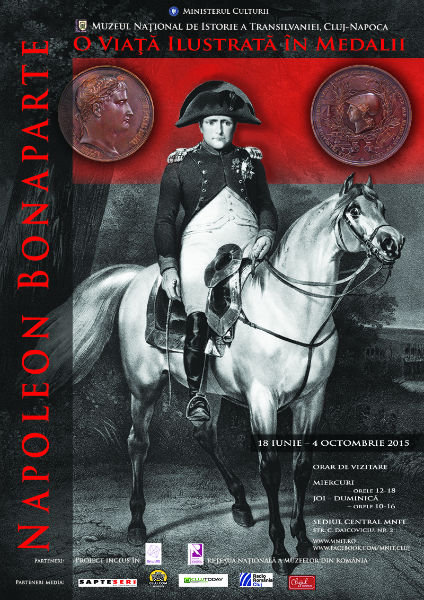 Medaliile lui Napoleon, expuse la Muzeul Național de Istorie a Transilvaniei