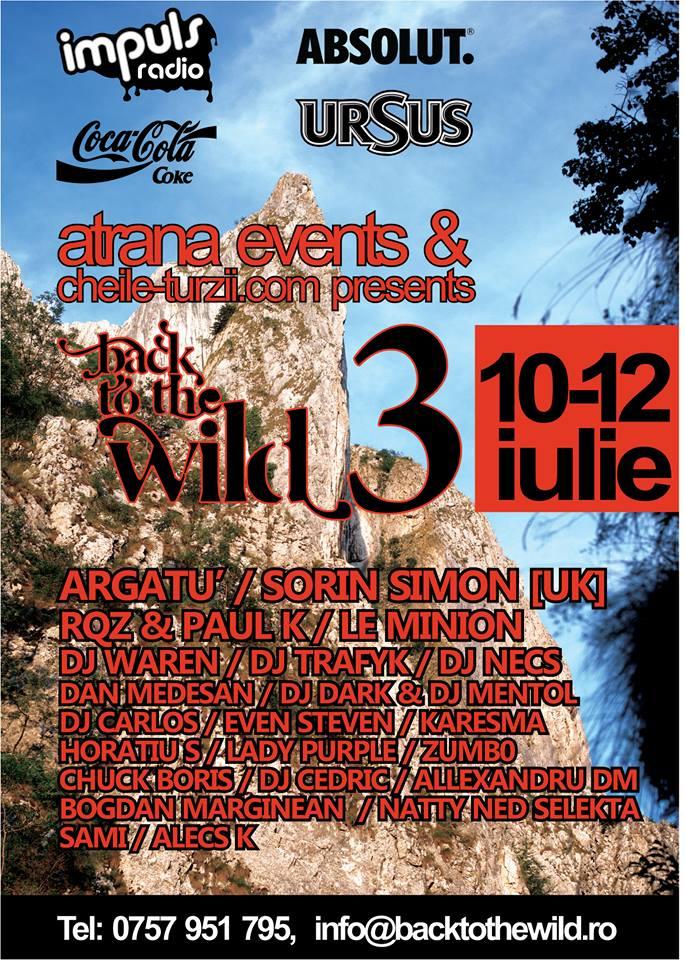 atrana events - back to wild 10-12 iulie 2015