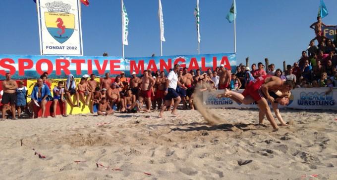 campionatul mondial de lupte pe plaja romania mangalia