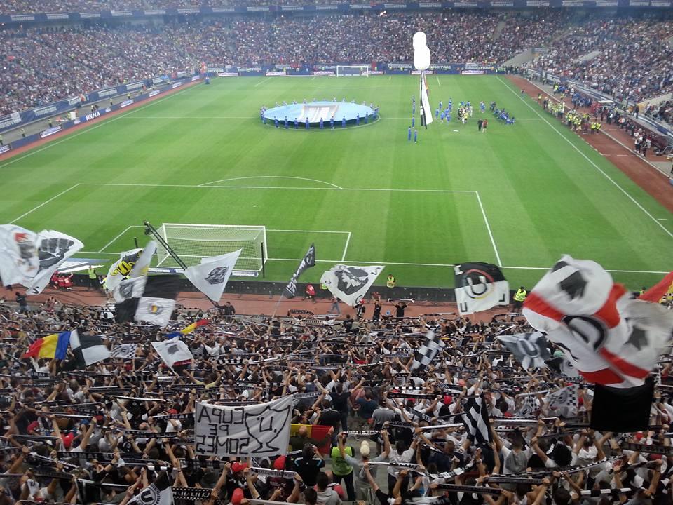 galerie U Cluj - FCSB 0-3 cupa romaniei arena nationala