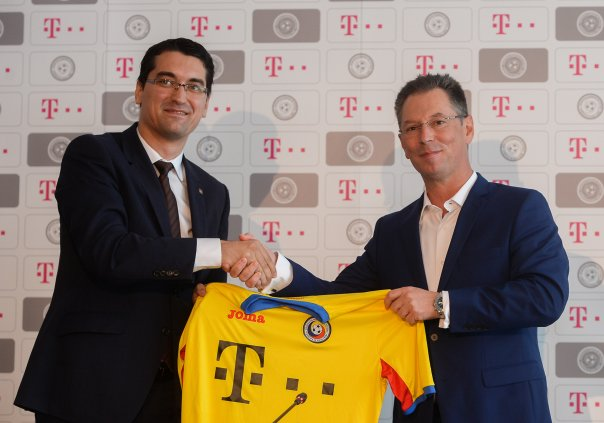 Telekom România, noul sponsor principal al echipe naționale de fotbal a României