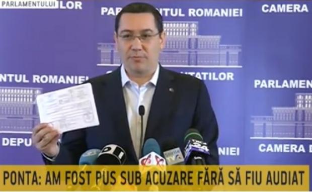 Urmăritul penal Victor Ponta rămâne în funcția de prim ministru