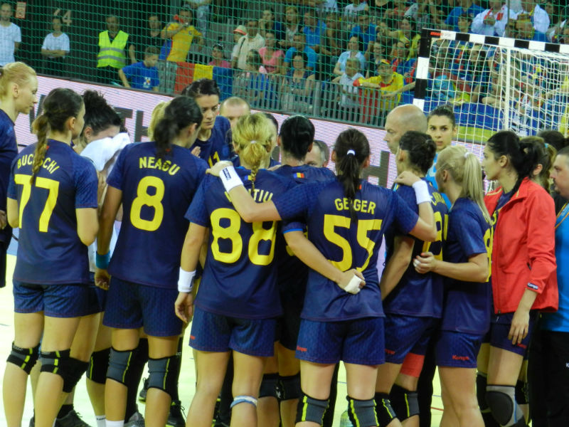romania nationala de handbal feminin 2015