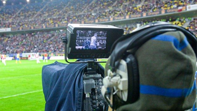 transmisie camera stadion