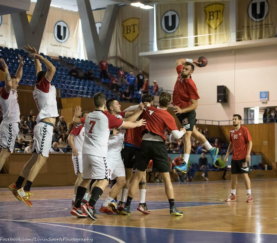 u cluj handbal masculin 2015