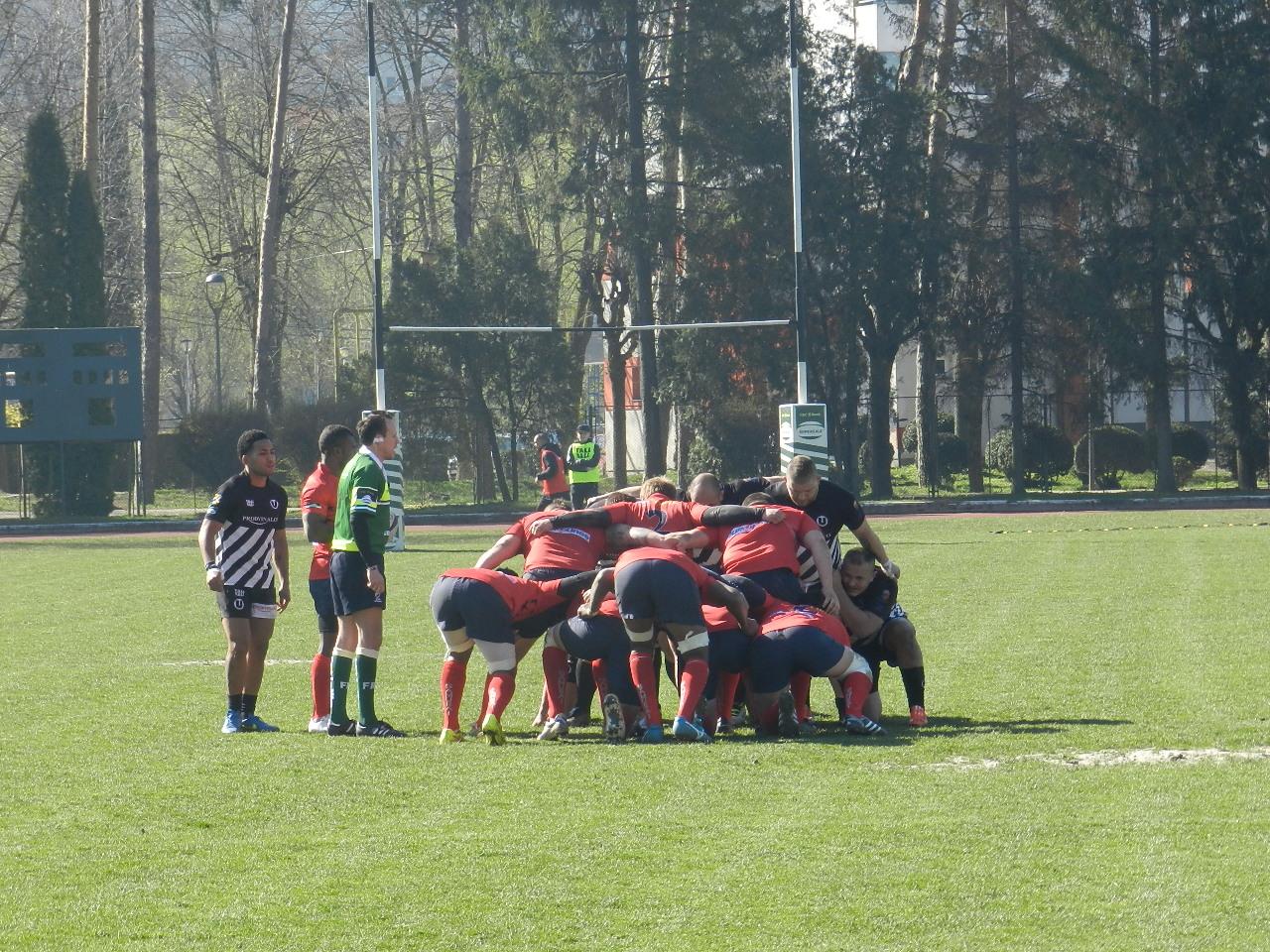 u prodvinalco rugby cu steaua