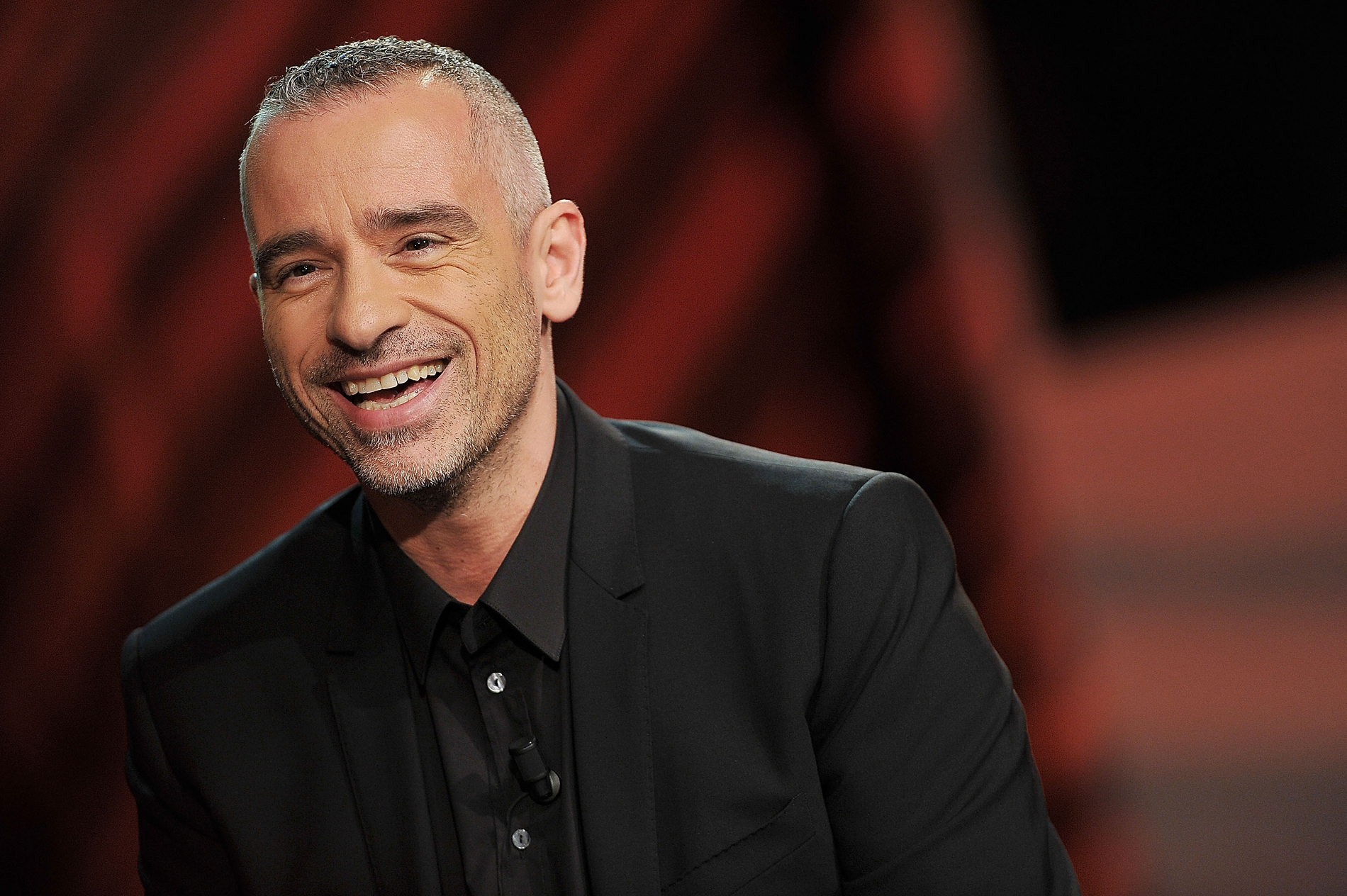 MILAN, ITALY - NOVEMBER 25:  Eros Ramazzotti attends 'Che Tempo Che Fa' Italian TV Show on November 25, 2012 in Milan, Italy.  (Photo by Stefania D'Alessandro/Getty Images)