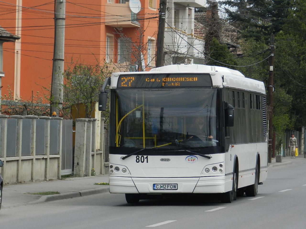 Cum circulă autobuzele și troleibuzele de sărbători la Cluj-Napoca?
