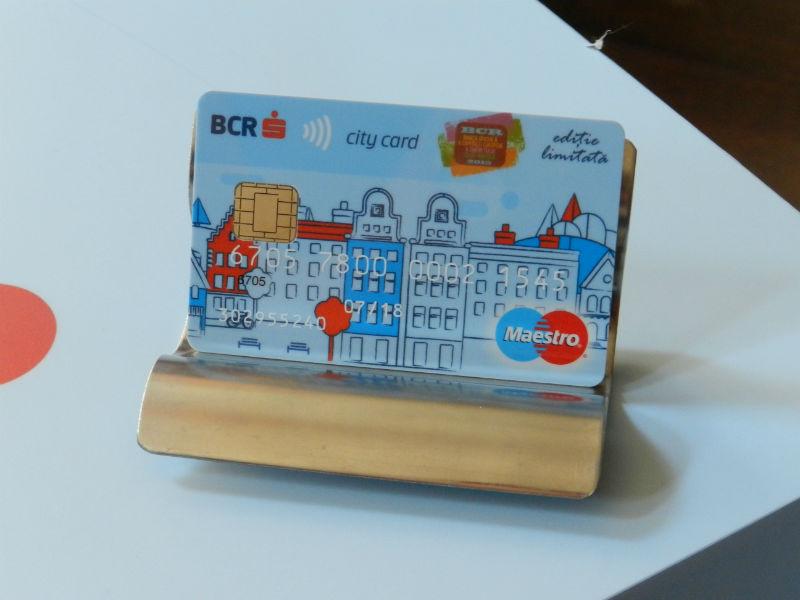 Clujul, primul oraș din România în care s-a lansat BCR City Card, cardul bancar contactless special pentru tineri, cu reduceri la 80 de parteneri