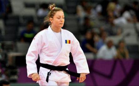 Judoka Corina Căprioriu, locul II la Tyumen