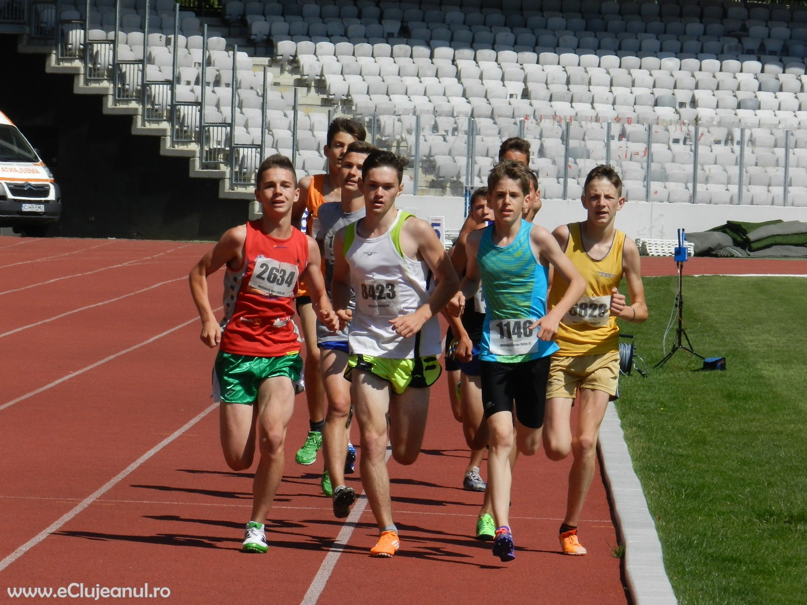 500 de atleți au participat în weekend la Finala Campionatului Național de Juniori III pe Cluj Arena