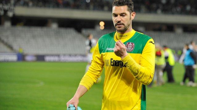 Mihai Mincă (CFR Cluj), cel mai bun portar în sezonul trecut al Ligii I