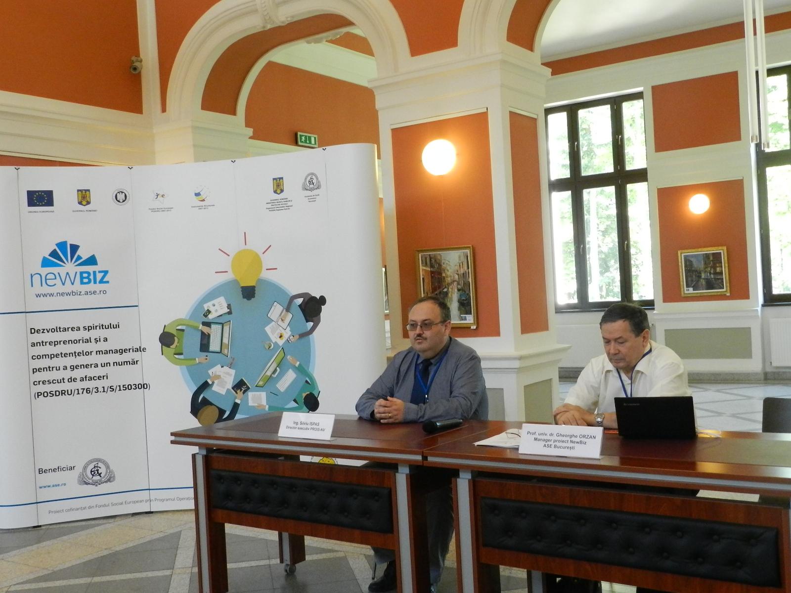 newbiz, manager proiect gheorghe orzan, ASE Bucuresti (2)