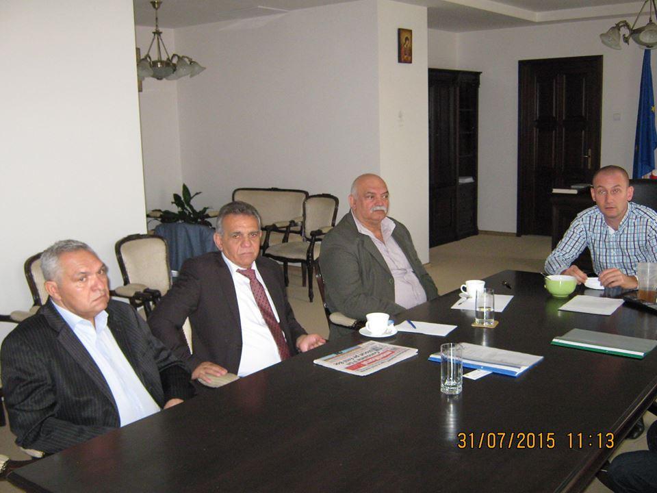 Seplecan s-a întâlnit cu reprezentanții partidei romilor Pro-Europa