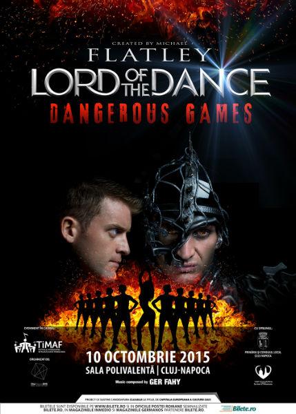"""""""Dangerous Games"""" la Cluj-Napoca. Michael Flatley aduce un nou spectacol Lord of the Dance în Capitala Europeană a Tineretului"""