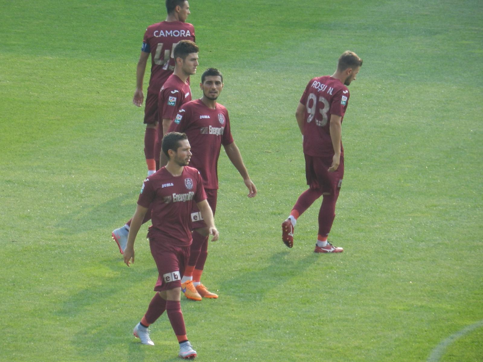 CFR Cluj, învinsă de Chiajna cu 2-1! Beleck a reușit primul gol în tricoul CFR-ului