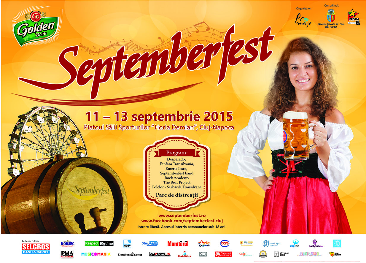 Ia-ți prietenii și vino la Septemberfest, ediția a XVII-a!