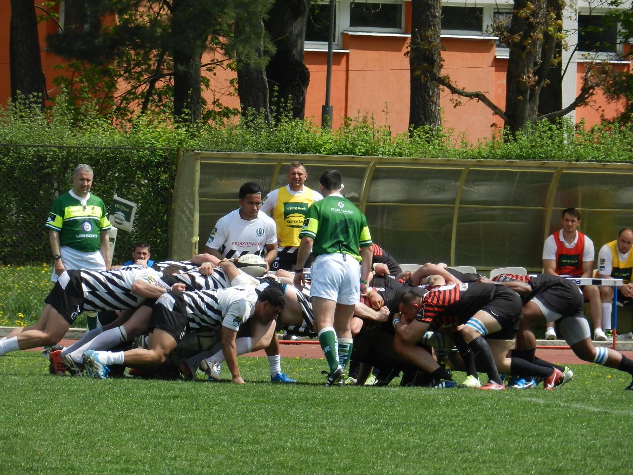 Rugbyiștii clujeni joacă astăzi cu Baia Mare în Cupa Regelui
