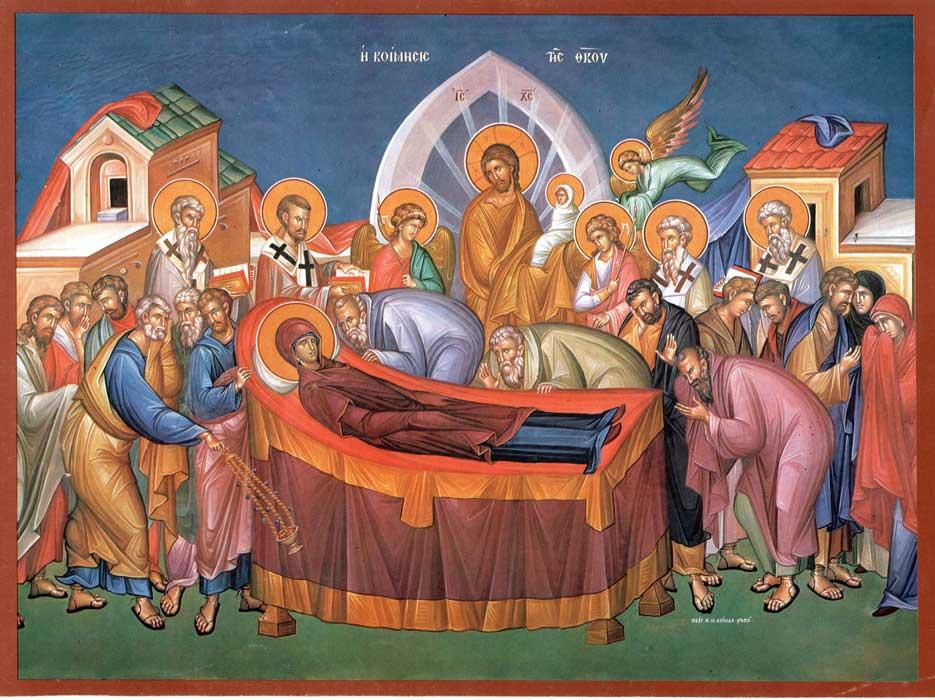 Adormirea Maicii Domnului sau Sfânta Maria Mare, una dintre cele mai importante sărbători