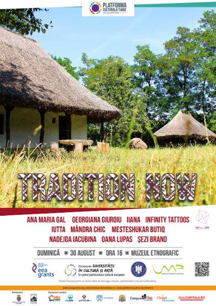 Tradition NOW – fashion show-ul care prezintă reintegrarea elementelor tradiționale în contextul actual