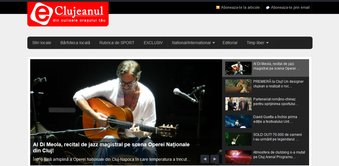 eclujeanul front page
