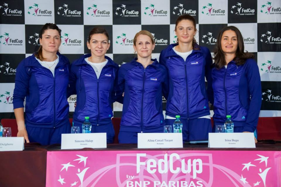 fed cup 2015 romania
