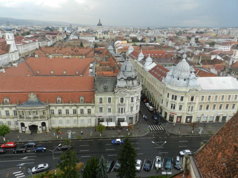 piata unirii vedere din turnul bisericii (18.08.2015, zilele maghiare)-w800-h600
