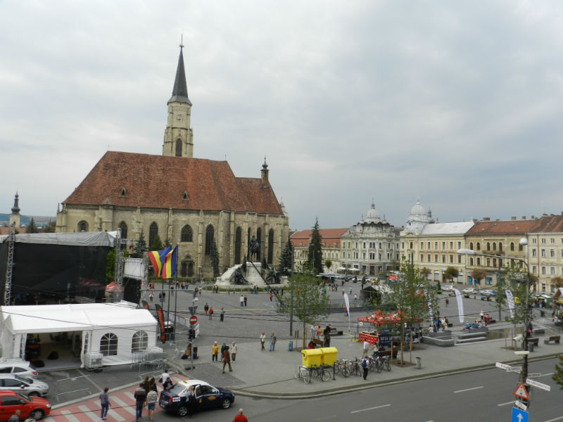 Zilele Studenţeşti KMDSZ impune restricții de circulație din centrul Clujului până în Hoia