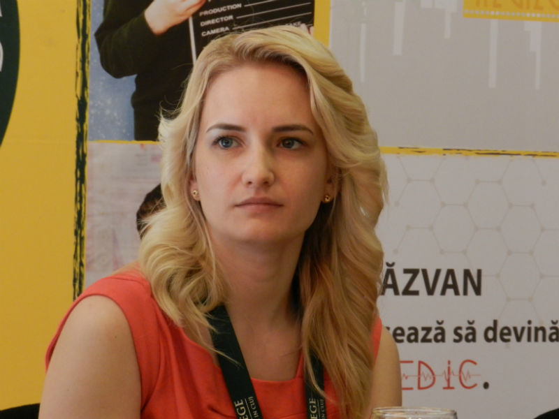 ruxandra mercea, transylvania college