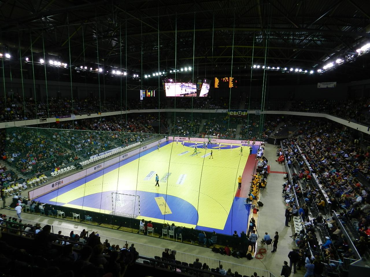Campionatul European de Gimnastică din 2017 ar putea fi găzduit de Sala Polivalentă din Cluj