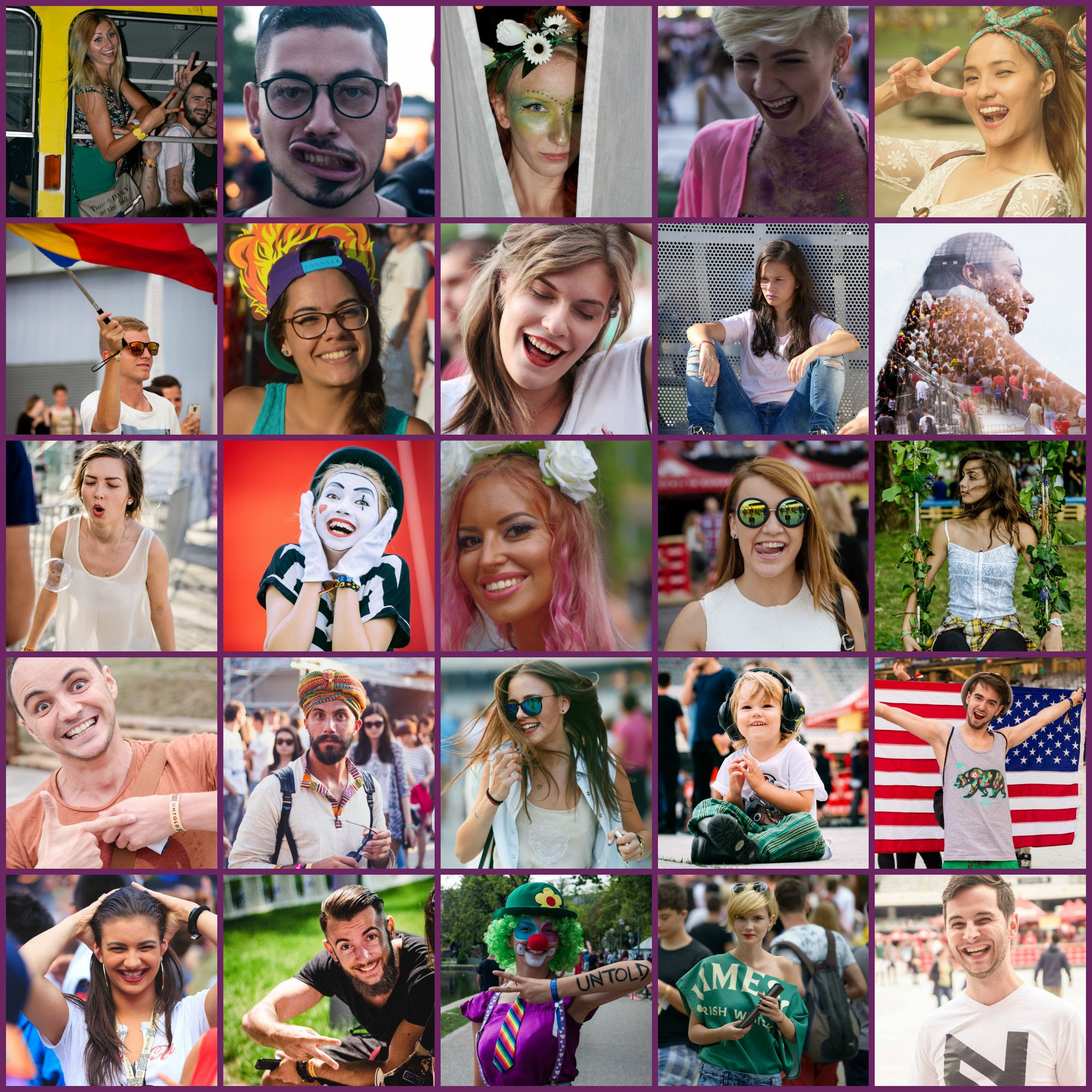 """Peste 15.000 de portrete compun """"The Untold Faces 2015""""! Pe 15 august, de Day 15, începe votul celor mai reușite"""