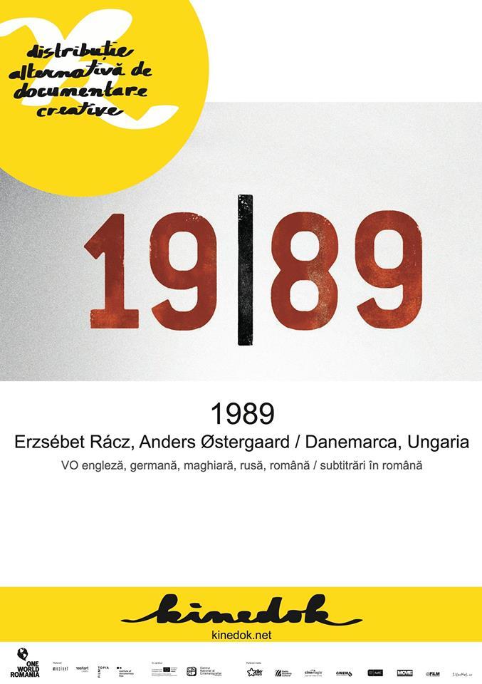 """Documentarul """"1989"""", despre """"căderea Cortinei de Fier"""", va fi proiectat joi, 10 septembrie, la Casa TIFF"""