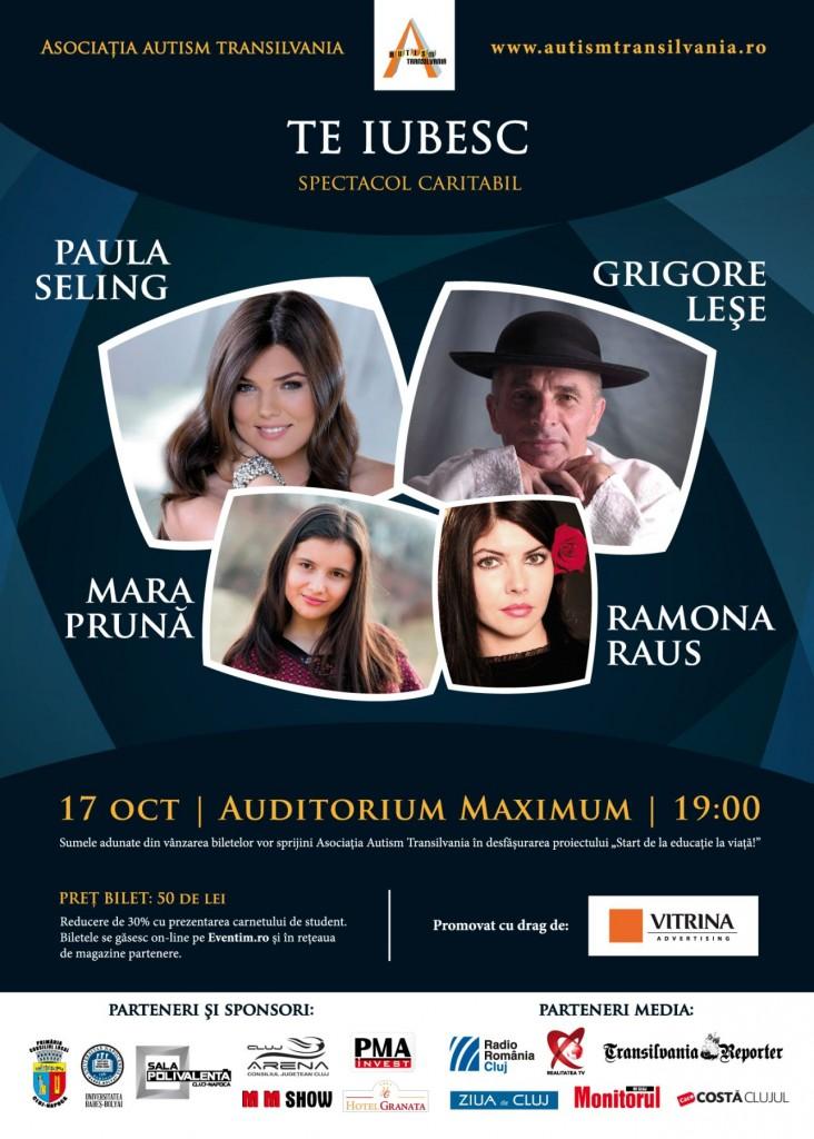 Concert Paula Seling, Grigore Lese, Ramona Raus, Mara Pruna