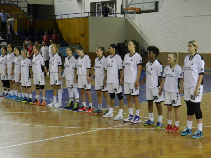 U Cluj baschet feminin la Memorialul Nicolae Martin