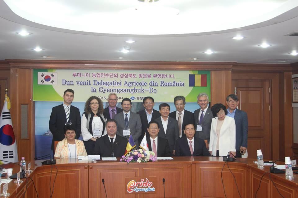 delegatie agricola CJ Cluj in korea