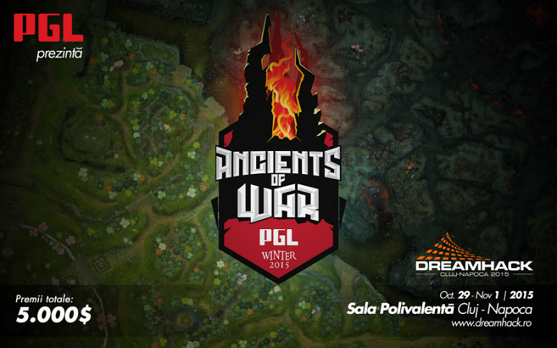 prezentare liga dota 2 Ancient of war
