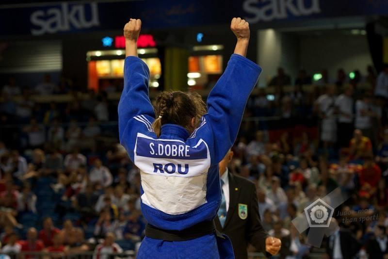 Judoka Ștefania Dobre țintește aurul la Oberwart