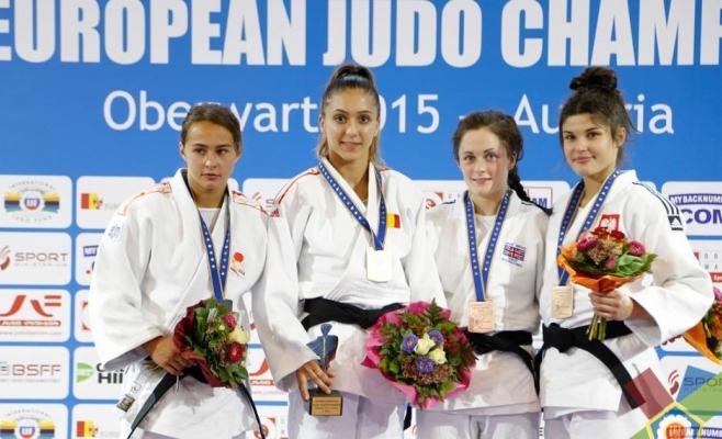Judoka Ștefania Dobre a obținut aurul la Campionatele Europene de Judo la juniori U21
