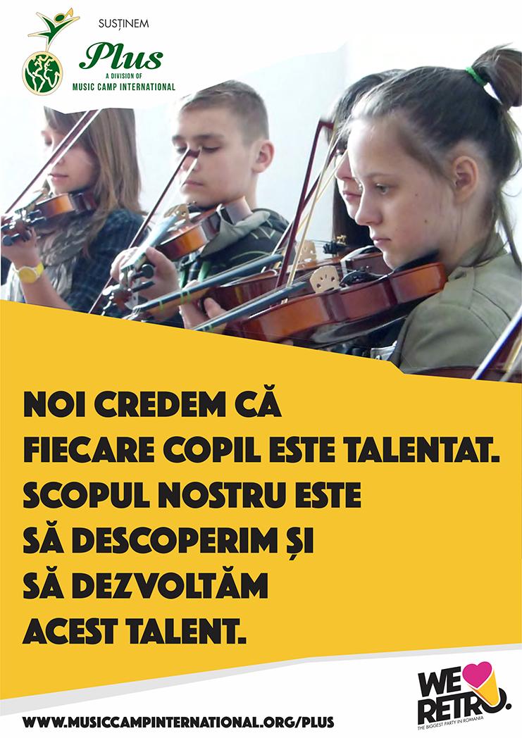 Strângere de fonduri organizată de Transylvania Music Event, pentru un after-school de muzică la Pata Rât!